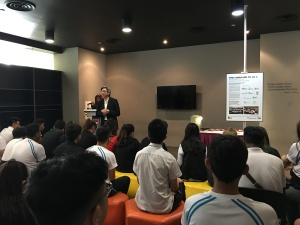 Speech by Director of SDM, ITE College Central